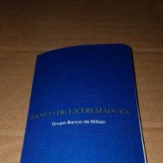Documentos bancarios: ANTIGUA LIBRETA DE AHORRO BANCO DE EXTREMADURA. Lote 190840011