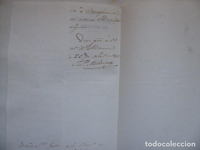 Documentos bancarios: documento de beneficencia de alcaldia constitucional de alcaucin, malaga, - Foto 2 - 193003197