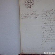 Documentos bancarios: BENEFICENCIA , ALCALDIA CONSTITUCIONAL DE ALMARGEN, MALAGA 1850. Lote 193003925