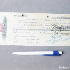Documentos bancarios: PAGARÉ DE CARBONELL Y CIA. JAÉN. BANCO HISPANO AMERICANO. LETRA DE CAMBIO 1929. Lote 194230843