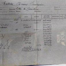 Documentos bancarios: DOCUMENTO BANCARIO 1960. Lote 194319273