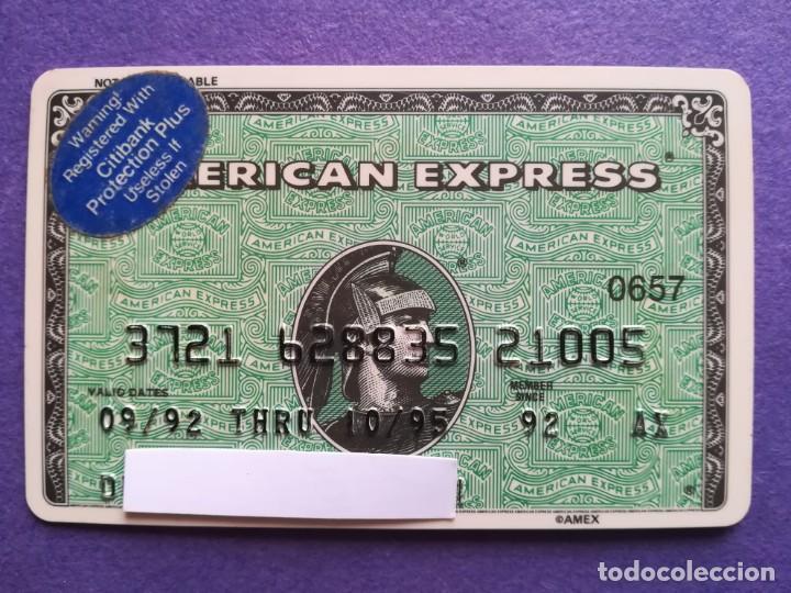 TARJETA AMERICAN EXPRESS 1992 (Coleccionismo - Documentos - Documentos Bancarios)