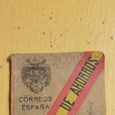Documentos bancarios: CAJA POSTAL DE AHORROS 1942. Lote 194510055