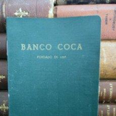 Documentos bancarios: BANCO COCA. LIBRETA CAJA DE AHORROS. SEVILLA 1962 - 1966.. Lote 194527097