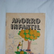 Documentos bancarios: AHORRO INFANTIL , CAJA DE AHORROS , Y MONTE DE PIEDAD .. Lote 195005465