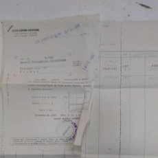 Documentos bancarios: BANCO HISPANO AMERICANO 1960 EXTRACTO DE CUENTA DOCUMENTO BANCARIO. Lote 195418487