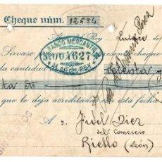 Documentos bancarios: LETRA DE CAMBIO CONFITERÍA GALLETAS PALACIOS. ALAR DEL REY PALENCIA 1932. Lote 195771108