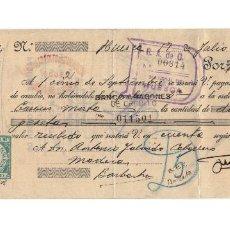 Documentos bancarios: PAGARE BANCO ARAGONES DE CREDITO. SUCURSAL DE HUESCA. 1938. GUERRA CIVIL.. Lote 196968796