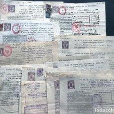 Documentos bancarios: 8 POLIZAS OPERACIONES BOLSA AL CONTADO ( 1924-1934 ) CATALANA GAS - UNION ELECTRICA CATALUÑA. Lote 198363520