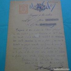 Documentos bancarios: PAGARÉ EN ORO Y PLATA DE 50.000 PESETAS DE 1900.EMILIO CANALS.. Lote 200870436