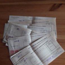 Documentos bancarios: BANCO BILBAO BARCELONA AGENCIA BAILEN 12 CARTA DE ABONO POR COMPENSACION DE CHEQUES CON SU SELLO. Lote 202708803