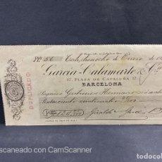 Documentos bancarios: PAGARÉ. GARCIA-CALAMARTE & CÍA. CALI. COLOMBIA, 1917. VER. Lote 205886861
