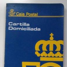 Documentos bancarios: CARTILLA DOMICILIADA CAJA POSTAL DE AHORROS 1991, ENVÍO GRATIS. Lote 206993248