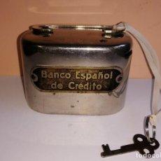 Documentos bancarios: HUCHA BANCO ESPAÑOL DE CRÉDITO. Lote 212926235