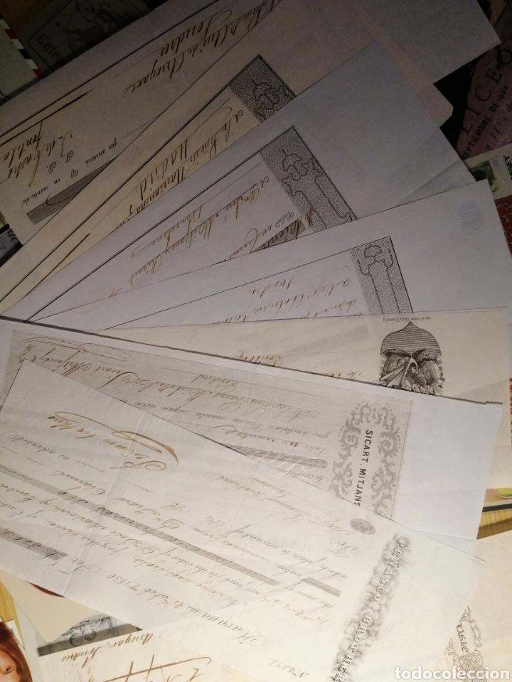 Documentos bancarios: LETRA DE CAMBIO FECHADA 1845 EN MATANZAS CUBA - PICARD&ALBERS - RARA PIEZA - Foto 2 - 117216171