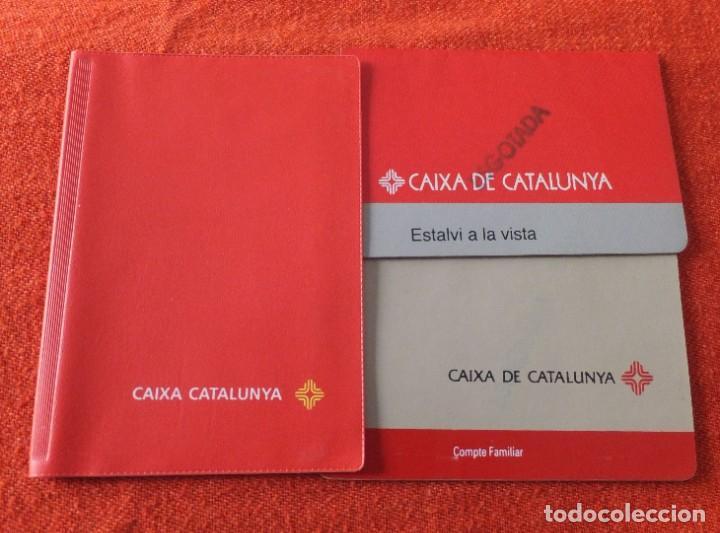 Documentos bancarios: CAIXA DE CATALUNYA - Foto 2 - 217934980