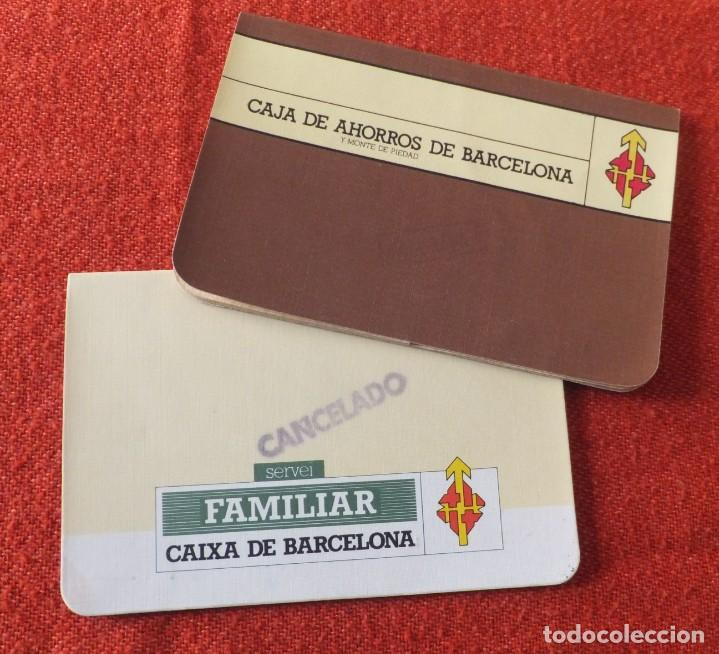 CAJA DE BARCELONA (Coleccionismo - Documentos - Documentos Bancarios)