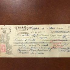 Documentos bancarios: LETRA DE CAMBIO DE 1931 BANCO GUIPUZCOANO. Lote 221128847