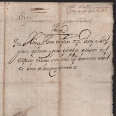 Documentos bancarios: ESCRITURA ANTIGUA -DOCUMENTO VENTA. LEER TEXTO,- NO TENGO MAS DATOS- VER FOTOS. Lote 221766163