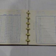 Documentos bancarios: ANTIGUO LIBRO DIARIO DE CONTABILIDAD, MARCA LVCANO, AÑOS 50. Lote 224684017