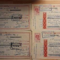 Documentos bancarios: LOTE DE 22 CHEQUE BANCARIO. Lote 227929710