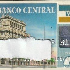 Documentos bancarios: TARJETA VISA BANCO CENTRAL 1992. Lote 231394640