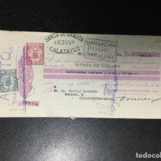 Documentos bancarios: LETRA DE CAMBIO PRIVADA DE BARCELONA , HILATURAS DE FABRA Y COATS , CLASE 7 , REPUBLICA , 1935 .. Lote 233544920