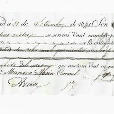 Documentos bancarios: LETRA DE CAMBIO. 1841. MADRID. 8500 REALES DE VELLÓN, ORO O PLATA. VER. Lote 235620770