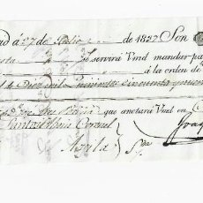 Documentos bancarios: LETRA DE CAMBIO. 1837. MADRID. 10159 REALES DE VELLÓN, ORO Y PLATA. VER. Lote 235628145