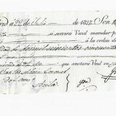 Documentos bancarios: LETRA DE CAMBIO. 1837. MADRID. 2650 REALES DE VELLÓN, ORO Y PLATA. VER. Lote 235628225