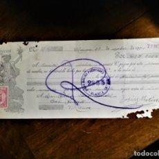 Documentos bancarios: LETRA DE CAMBIO 27-9-1934 DE D. JESÚS MOLINA FERNÁNDEZ, DE BLANCA (MURCIA), ACEPTADO SIN BANCO, A D.. Lote 243049855