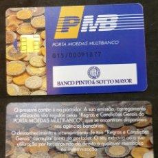 Documentos bancarios: LOTE DE 34 TARJETAS CREDITO BANCARIO. Lote 244433365
