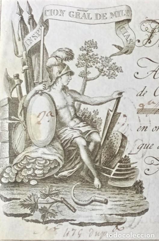 LETRA DE CAMBIO ANTIGUA BADAJOZ AÑO 1829 CON CERTIFICADO DE AUTENTICIDAD. DOCUMENTOS ANTIGUOS (Coleccionismo - Documentos - Documentos Bancarios)