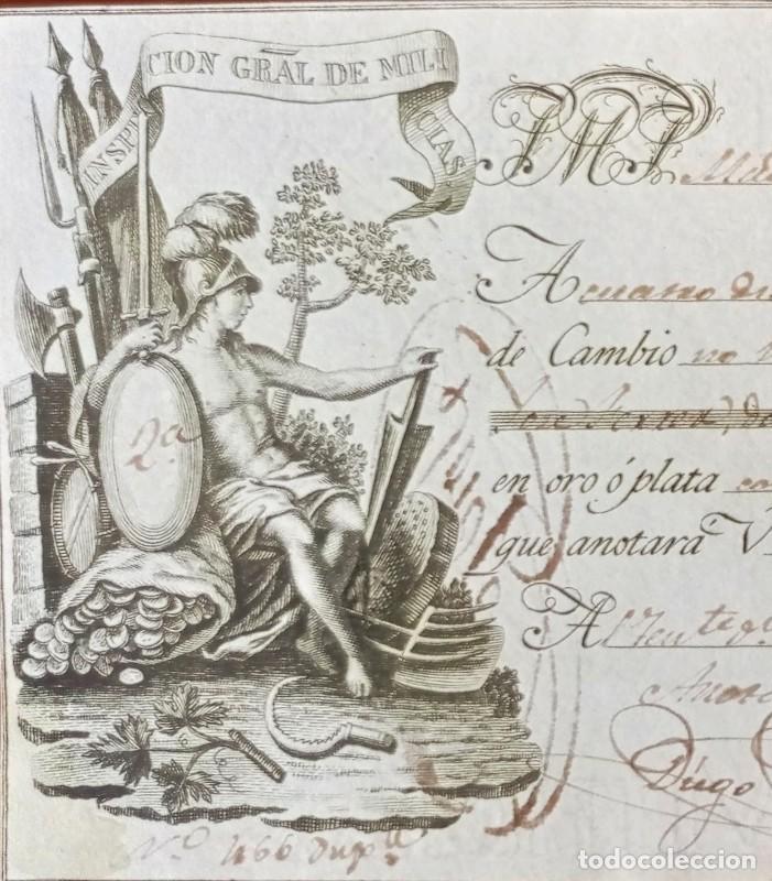 LETRA DE CAMBIO ANTIGUA CÁDIZ AÑO 1829 CON CERTIFICADO AUTENT. DOCUMENTOS BANCARIOS ANTIGUOS (Coleccionismo - Documentos - Documentos Bancarios)