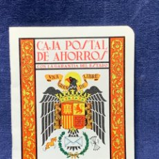 Documentos bancarios: CAJA POSTAL AHORROS LIBRETA CORRIENTE AGUILA SAN JUAN 1969 16X12CMS. Lote 255484260