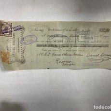 Documents bancaires: SAN SEBASTIAN, 1904. LETRA DE CAMBIO. RAFAEL TORNERO.. Lote 255958295