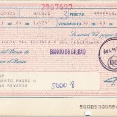 Documentos bancarios: 1979 LETRA DE CAMBIO KODAK. Lote 257319305