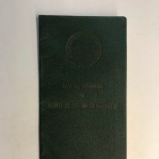 Documentos bancarios: LIBRETA BANCO. CAJA DE AHORROS Y MONTE DE PIEDAD DE VALENCIA, OFICINA DE BUÑOL (A.1969). Lote 257585670