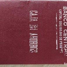Documentos bancarios: CARTILLA AHORRO DEL BANCO CENTRAL 1934. Lote 259315355