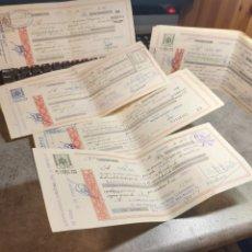 Documentos bancarios: LETRAS DE CAMBIO, PAGO DE REUS-TARRAGONA 1973,74,75. Lote 267681449