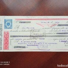 Documentos bancarios: LETRA DE CAMBIO BILBAO ASTURIAS 1950. Lote 269779178