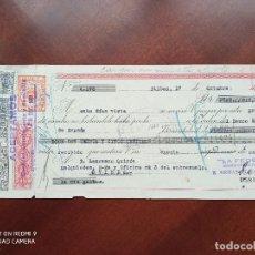 Documentos bancarios: LETRA DE CAMBIO BILBAO ASTURIAS 1951. Lote 269779413