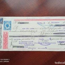 Documentos bancarios: LETRA DE CAMBIO BILBAO ASTURIAS 1950. Lote 269779618