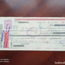 Documentos bancarios: LETRA DE CAMBIO BILBAO ASTURIAS 1951. Lote 269779933