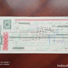 Documentos bancarios: LETRA DE CAMBIO BILBAO ASTURIAS 1951. Lote 269780268
