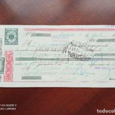 Documentos bancarios: LETRA DE CAMBIO BARCELONA ASTURIAS 1951. Lote 269780963