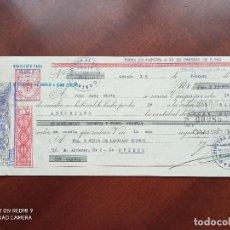 Documentos bancarios: LETRA DE CAMBIO OVIEDO 1960. Lote 269781553