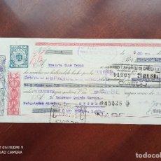 Documentos bancarios: LETRA DE CAMBIO LINARES OVIEDO 1954. Lote 269782603