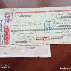 Documentos bancarios: LETRA DE CAMBIO BILBAO ASTURIAS 1952. Lote 269783958