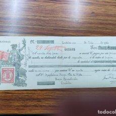 Documentos bancarios: LETRA DE CAMBIO 5.000 PTAS1 DE JULIO 1910.. Lote 269783978